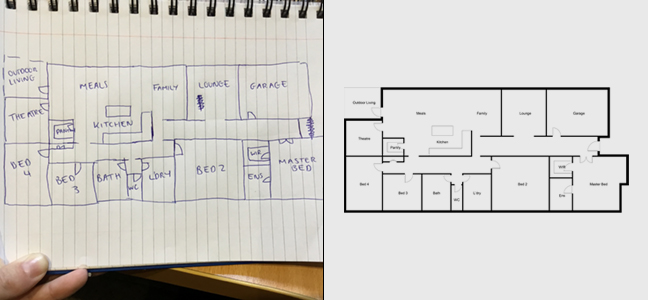 Floor Plan Re-draws